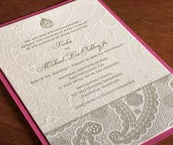 indian wedding invites 4 new indian wedding card designs letterpress foil blind
