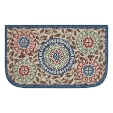 this better homes and gardens medallion kitchen rug will add a