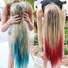 dye bottom hair tips still in style diy hair 10 ways to dye colorful hair bellatory