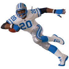 Detroit Lions Home Decor by Nfl Detroit Lions Barry Sanders Ornament Keepsake Ornaments