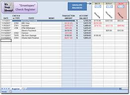 Financial Spreadsheet Envelope Budget Spreadsheet Moneyspot Org