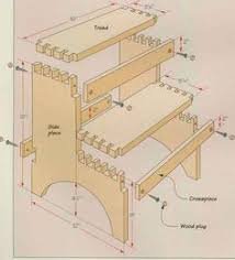 Free Shaker End Table Plans by Wood Joinery Techniques Free Tutorial U0026 Desk Building Plan