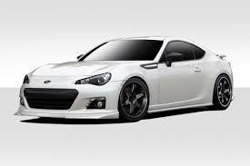 nissan brz black 2013 2017 subaru brz duraflex st c body kit 4 piece duraflex body