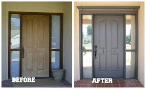 replacing your front door with a composite make sure its good one