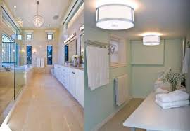 Bathroom Flush Mount Lighting Rcb Lighting Bathroom Flush Mount Light Fixtures