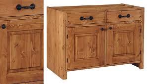 cuisine pin meuble de cuisine en pin idées de décoration intérieure decor