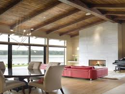 Exposed Beam Ceiling Living Room by Ceiling Beams Ideas Home Design Ideas