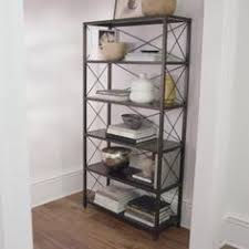 home decorators bookcase home decorators collection industrial mansard black open bookcase