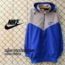 Jual Jaket Nike Parasut jual free ongkir jaket nike parasut abu biru bukan bomber parka