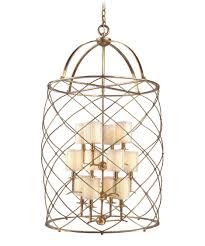 Cage Chandelier Lighting Corbett Lighting 13 412 Argyle 26 Inch Wide Foyer Pendant