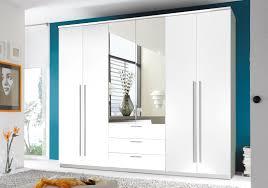 Schlafzimmerschrank Streichen Kleiderschrank Schrank Schlafzimmerschrank Groß Weiß Mit Spiegel