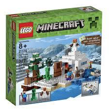 lego minecraft the snow hideout 21120 toys