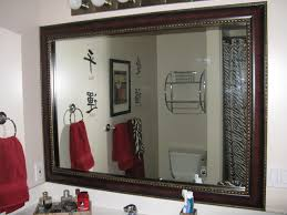 Bathroom Mirror Frames Kits Traditional Excellent Custom Diy Bathroom Mirror Frame Kits