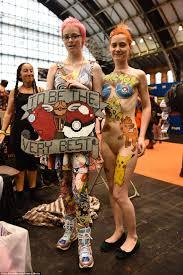 pokemon fans wear wacky as comiccon hits manchester