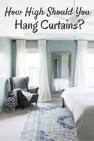 Best Way To Hang Curtain Rods Best 25 How To Hang Curtains Ideas On Pinterest Hanging Curtain