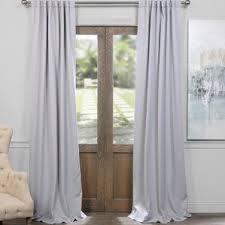 Curtain Door Panels Rod Pocket Door Panel Curtains Wayfair