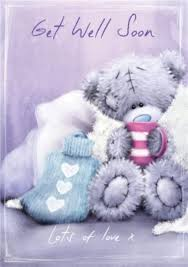 get well soon teddy tatty teddy get well soon card
