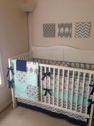 Navy Crib Bedding 129 Best Elephant Crib Bedding Sets Images On Pinterest Crib
