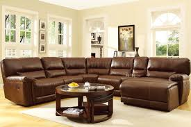 Motion Sectional Sofa Blythe Motion Sectional Sofa 9606 In Brown By Homelegance