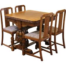 pub dining room sets antique draw leaf pub dining table and chairs set carved light
