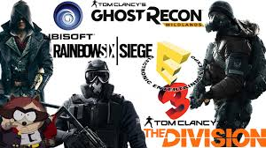 siege conference e3 ubisoft conference ita annunci the division rainbow six