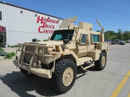 armored vehicles oshkosh sandcat on display at the international armored vehicles
