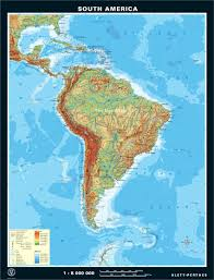 North America South America Map by South America Classroom Map Zoom