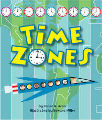 India Time Zone Map by Time Zones David A Adler Edward Miller Iii 9780823423859