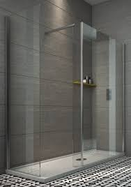 1500 Shower Door Indi 1500 X 800 8mm Walk In Shower Enclosure Inc Tray And Waste