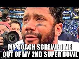 Super Bowl Sunday Meme - russell wilson super bowl xlix meme sports unbiased