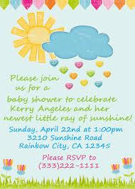 sunshine invitation baby shower invitations marvellous baby shower invitation ideas