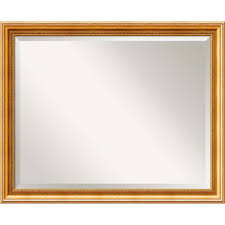 Bed Bath And Beyond Bathroom Mirrors by Buy Gold Bathroom Mirror From Bed Bath U0026 Beyond
