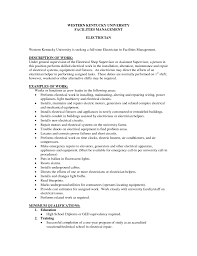 Collections Resume Examples Download Sample Journeyman Electrician Cover Letter