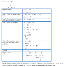 solving equations with two variables worksheets