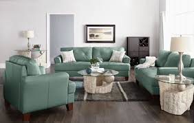 vita 100 genuine leather sofa u2013 sea foam the brick