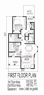 small one story house plans small one story house plans for narrow lots best of 2 story narrow