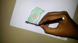 Bangladesh Flag Meaning How To Drawing National Flag Of Bangladesh Steo By Step Youtube