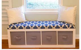 upcycle a bookshelf to a lovely window seat care2 healthy living