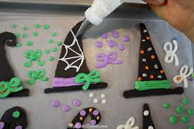 Halloween Cake Pictures by Witch Hats A Halloween Cake Decorating Tutorial My Cake