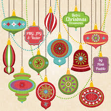 retro christmas ornament clipart clip art vintage christmas