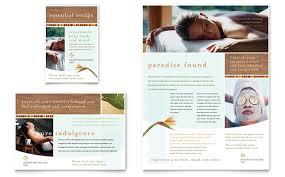 9 best images of medical spa brochure template spa flyer