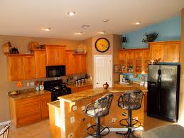 using the awkward space above your kitchen cabinets