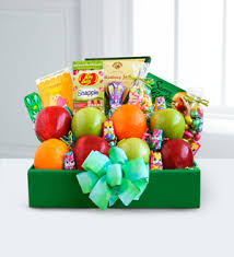 fruit delivery chicago jazmin flowers easter delivery fruit and treats box chicago il