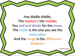 free math printable for mean median mode and range free math