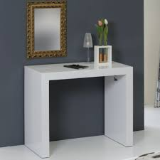 furniture pull out dining table expandable console table