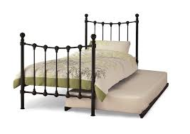 3ft single black metal bed frame guest bed
