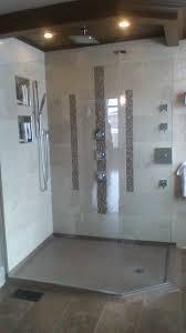 top ideas about master bath pinterest kitchen backsplash custom shower base out cultured granite low threshold