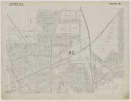 Warren Ohio Map by Lh U0026 G Center Digitized Resources Local History And Genealogy