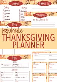 20 thanksgiving printables thanksgiving planner decor