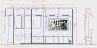 sprinter van conversion floor plans murphy bed design cargovanconversion com